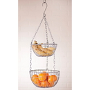 Irvin's Tinware K16-38 Hanging Round Wire Basket Set