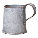Irvin's Tinware K18-06WZ Decorative Mug in Weathred Zinc