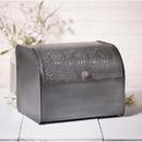Irvin's Tinware K18-47BZ Bread Box in Antique Tin