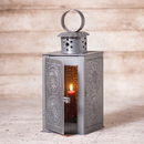 Irvin's Tinware K18-50BZ Watchman's Lantern in Antique Tin