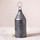 Irvin's Tinware K18-51SM 15-Inch Primitive Lantern in Smokey Black