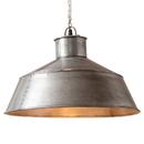 Irvin's Tinware K18-63BU Springhouse Pendant in Brushed Tin