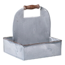 Irvin's Tinware K18-75WZ Traditional Carry-all in Weathered Zinc