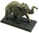 IWGAC 01-36946 Male Elephant /w Tusks on Base
