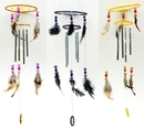 IWGAC 0111-10244 Dream Catcher Chime 3 Assorted Styles Priced Each