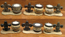 IWGAC 0126-03613 Fleur De Lis with Tea Lite Assorted Priced each