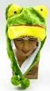 IWGAC 0126-10K-FROG Kids Frog Plush Hat