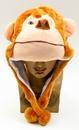 IWGAC 0126-10K-MONKEY Kids Monkey Plush Hat