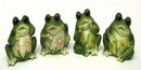 IWGAC 0126-12322 Frogs Set of 4