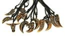 IWGAC 0126-2947 Bone Necklace Tooth Set of 12