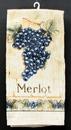 IWGAC 0126-Merlot Merlot Grape Hand Towel