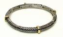 IWGAC 015-1917 Stackable Stretch Bangle Braid Small