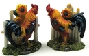 IWGAC 0154-17828 Rooster With Fence 2 assorted priced each