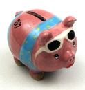 IWGAC 0154-18467 Glammie Hammie Pig Bank