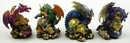 IWGAC 0154-PDK95 Miniature Dragons Set of 4