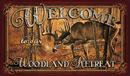 IWGAC 017-1860 Welcome Deer Door Mat