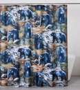IWGAC 017-2004 Black Bears Shower Curtain