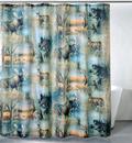 IWGAC 017-2009 Deer & Moose Shower Curtain