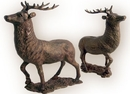 IWGAC 0170J-04632 HUGE Elk Deer Cast Iron