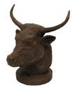 IWGAC 0170J-04658 Cast Iron Rust Bull Bust