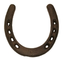 IWGAC 0170J-05208 Cast Iron Large Horse Shoe Set of 6