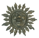 IWGAC 0170J-05433 Cast Iron Sun Face