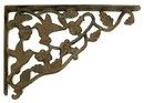 IWGAC 0170J-06504 Cast Iron Hummingbird Corner Brace Set of 2