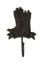 IWGAC 0170K-01670 Cast Iron Boot Hook Set of 2