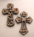 IWGAC 0170K-03650 Unique Set of 4 Cast Iron Crosses