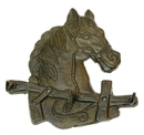 IWGAC 0170K-04199 Cast Iron Horse Head Hooks