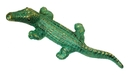 IWGAC 0170K-04406 Cast Iron GreenGold Alligators Set of 2