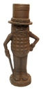 IWGAC 0170K-04738 Mr. Peanut Man Cast Iron Bank Large Rust