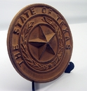 IWGAC 0170K-05118 Cast Iron Texas State Seal