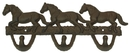 IWGAC 0170S-01538 Cast Iron Horse Hook Rust