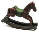 IWGAC 0179-0297 Resin Rocking Horse