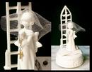IWGAC 0179-11309 Roman Musical Figure Girl W Lord's Prayer