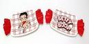 IWGAC 0179-36880 Betty Boop Classic Plates Set of 2