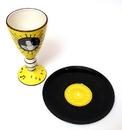 IWGAC 0179-39430 Elvis 1954 Goblet & Plate