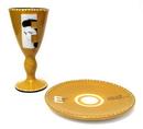 IWGAC 0179-39461 Elvis 2002 Goblet & Plate