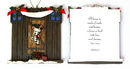 IWGAC 0182-25627A Roman Barn Door Ornament to Personalize