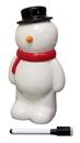 IWGAC 0182-37832B Roman Snowman Bank WMarker to Personalize