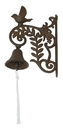 IWGAC 0184J-0101 Cast Iron Wall Mount Bird Bell