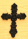 IWGAC 0184J-01031 Small Cast Iron Cross