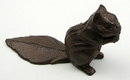 IWGAC 0184J-0128 Squirrel Cast Iron Door Stop