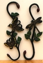 IWGAC 0184J-03073 Cast Iron Butterfly & Dragonfly Plant Hanger