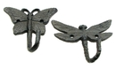 IWGAC 0184J-0375 Butterfly & Dragonfly Hook, Set of 2