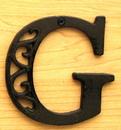 IWGAC 0184J-0557-G Cast Iron Letter G