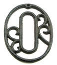 IWGAC 0184J-0558-0 Cast Iron Number Zero