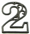 IWGAC 0184J-0558-2 Cast Iron Number Two