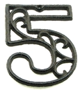 IWGAC 0184J-0558-5 Cast Iron Number Five